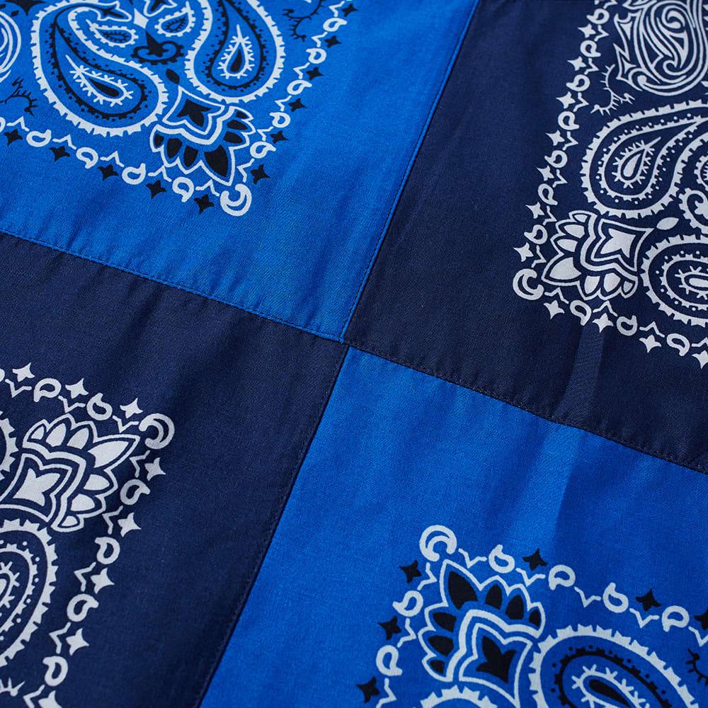 Vans Vault x Bedwin And The Heartbreakers Bandana Patchwork Tee - Blue