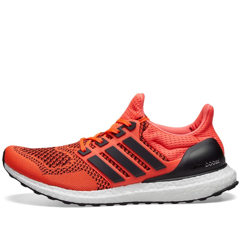 adidas Consortium Ultra Boost 1.0 (Solar Red   Core Black)
