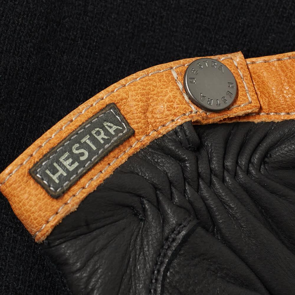 Hestra Deerskin Wool Tricot Glove - Black