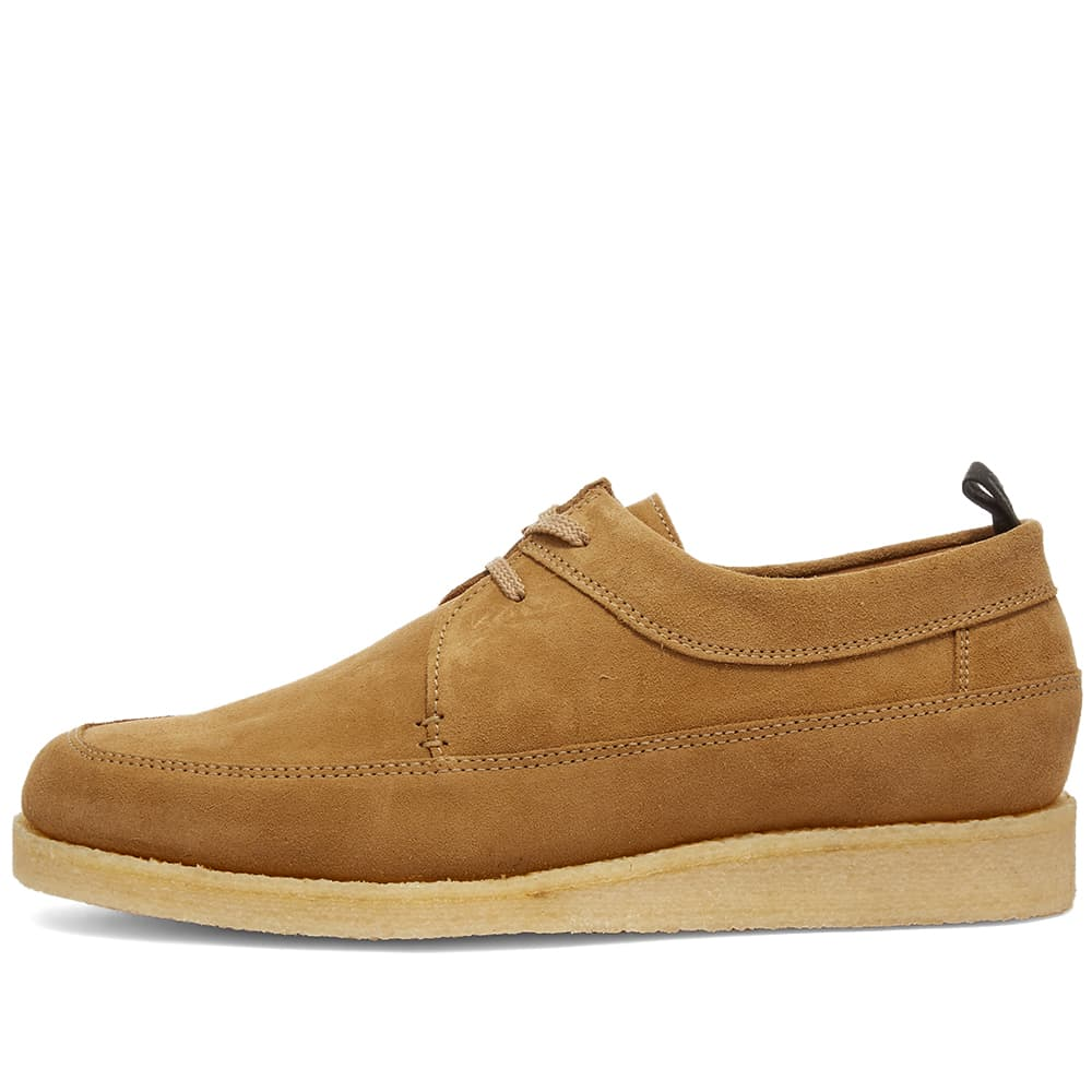 Fred Perry x Padmore And Barnes Suede Low - Warm Stone