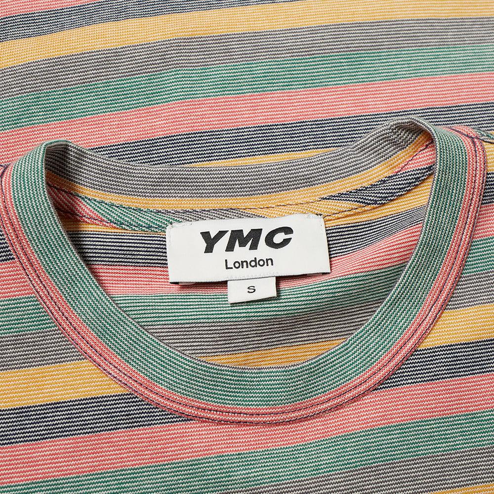 YMC Wild Ones Stripe Tee - Multi