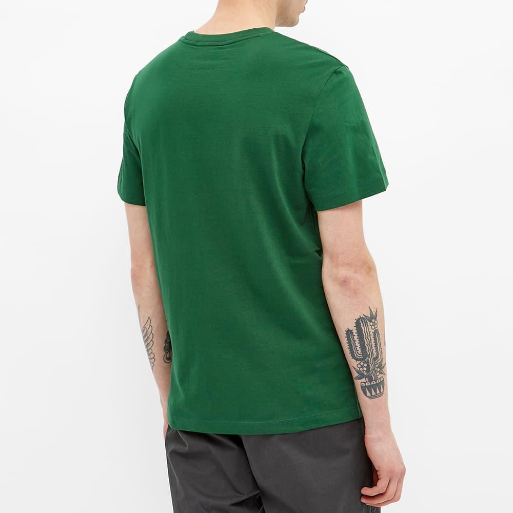Lacoste Text Logo Tee - Green