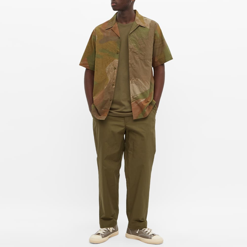 Maharishi Vintage Panther Patch Tee - Olive