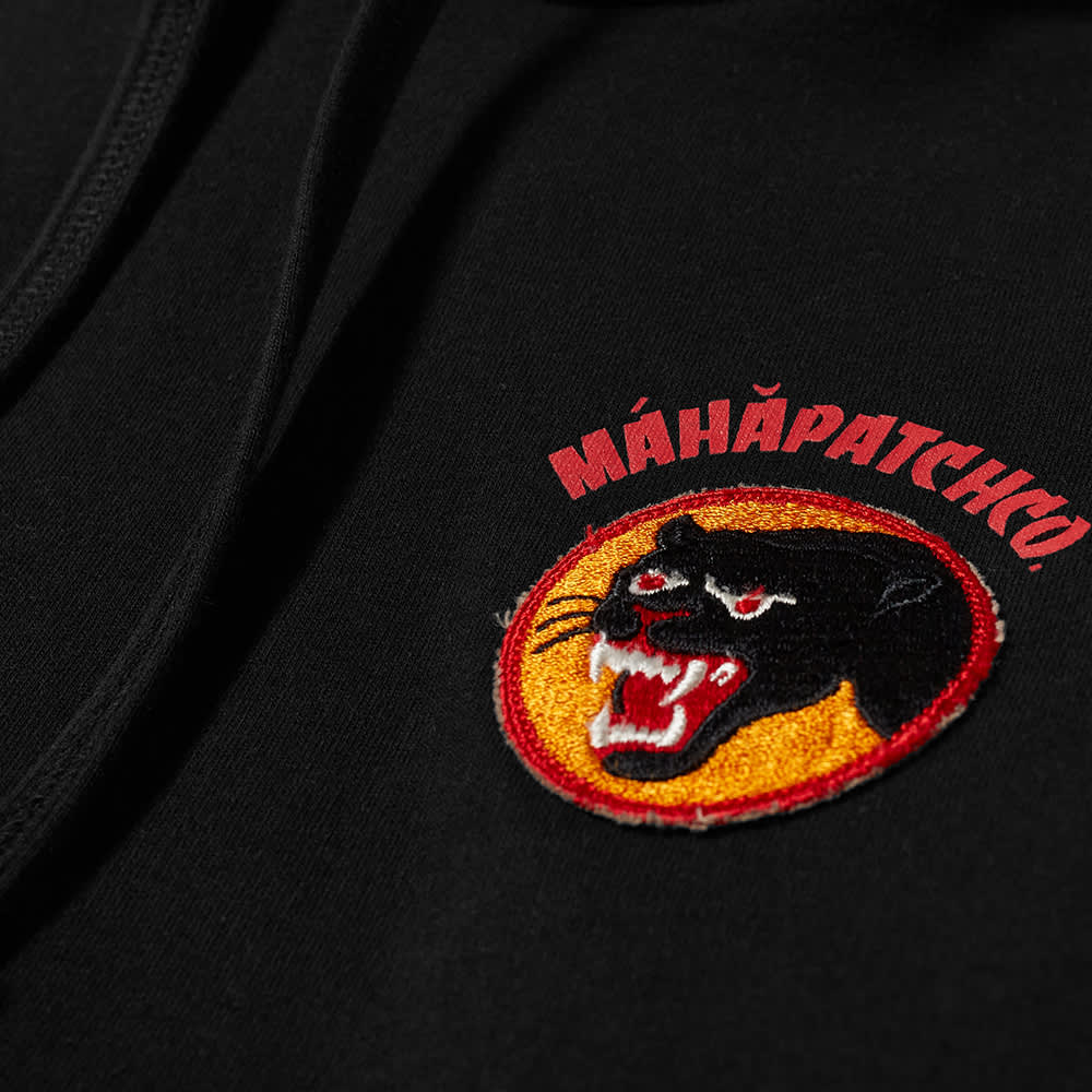 Maharishi Vintage Panther Patch Hoody - Black
