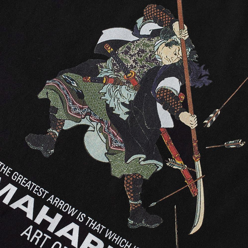 Maharishi Samurai Broken Arrows Tee - Black