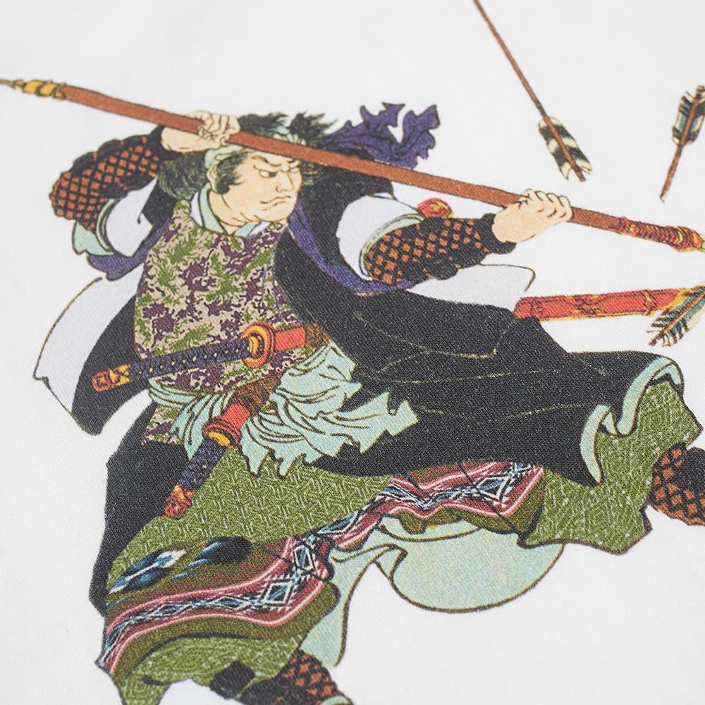 Maharishi Samurai Broken Arrows Tee - White
