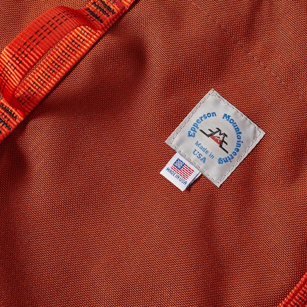Epperson Mountaineering Climb Tote - Clay & Orange Webbing