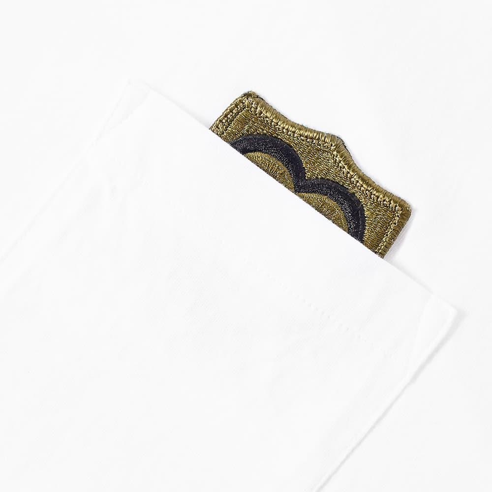 Maharishi Heart Of War Patch Pocket Tee - White