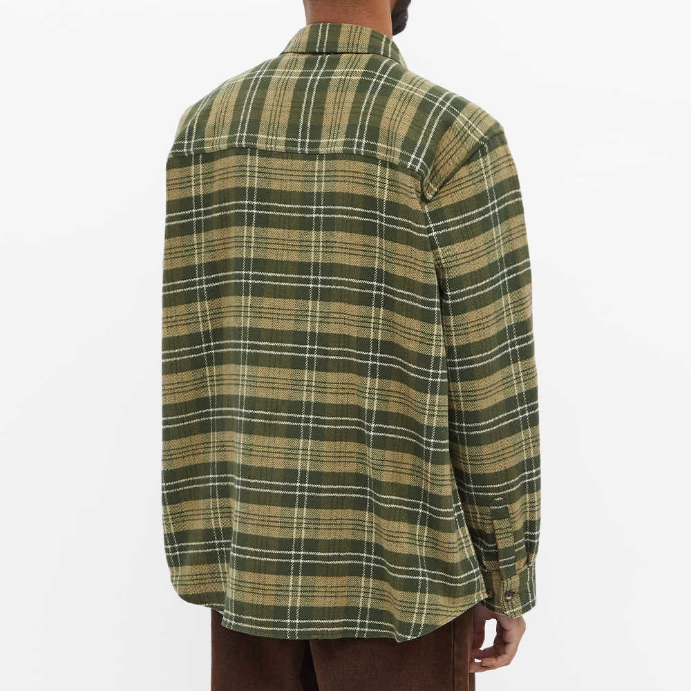 Polar Skate Co. Flannel Shirt - Uniform Green
