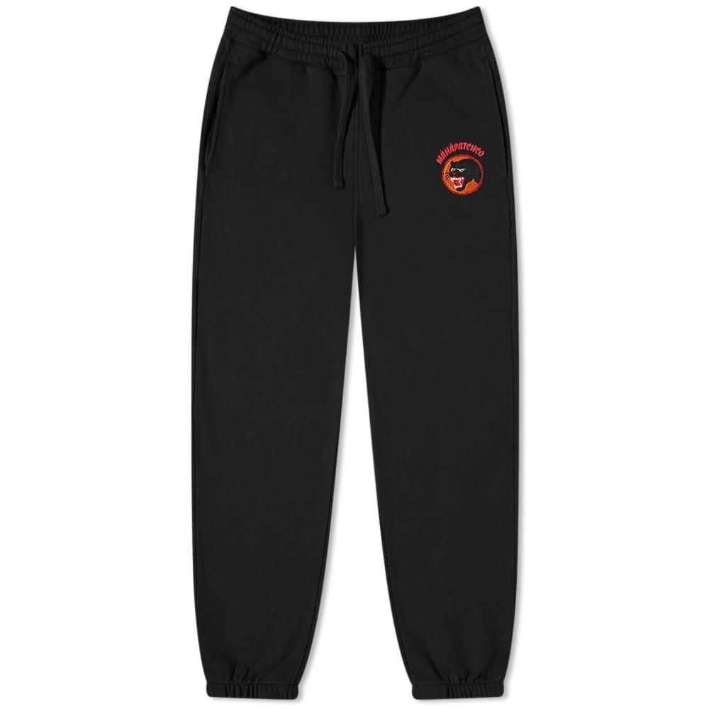 Maharishi Panther Patch Sweat Pant - Black