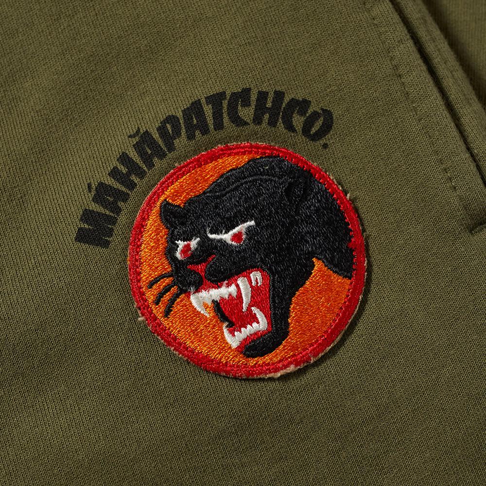 Maharishi Panther Patch Sweat Pant - Olive
