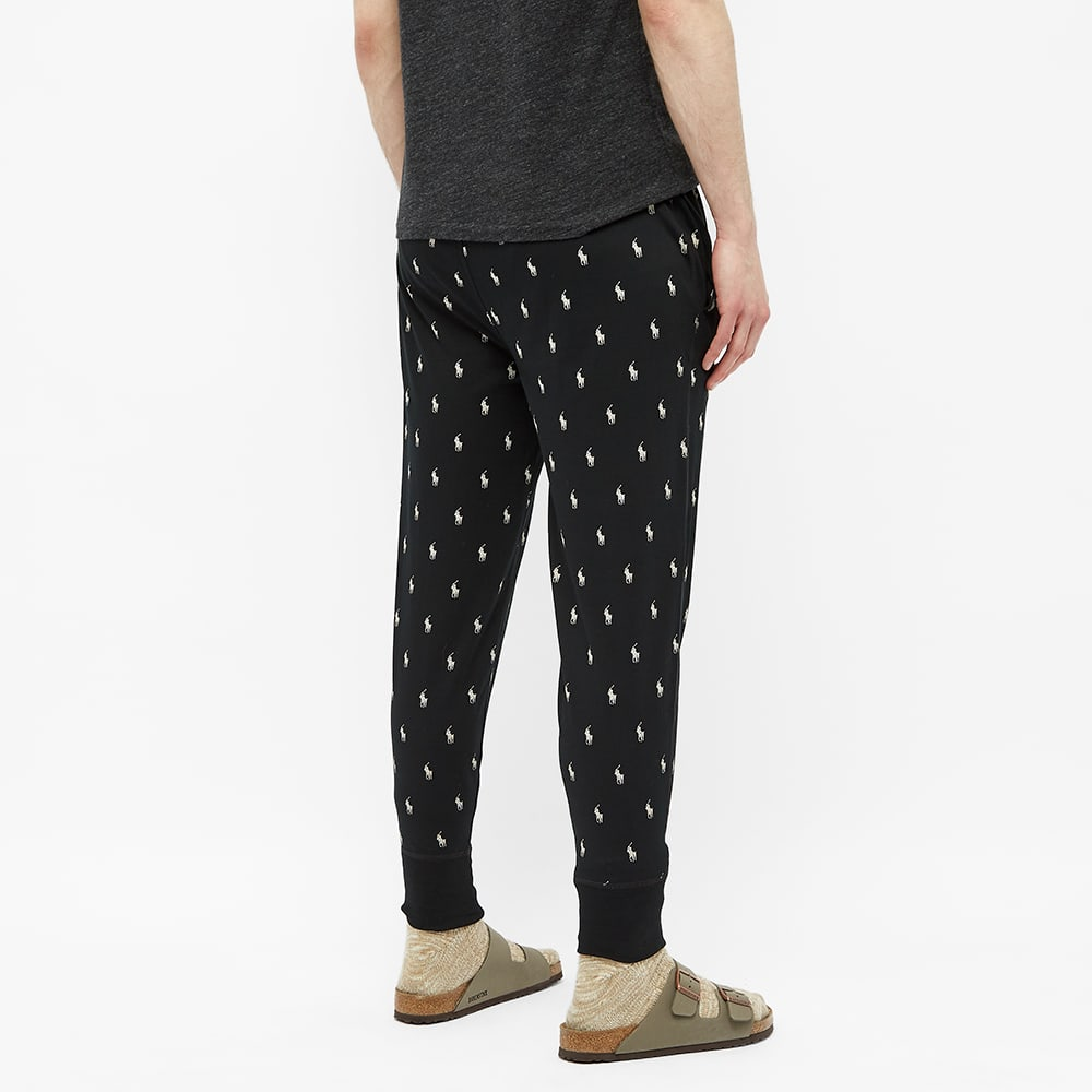 Polo Ralph Lauren All Over Pony Sleepwear Pant - Polo Black & Nevis