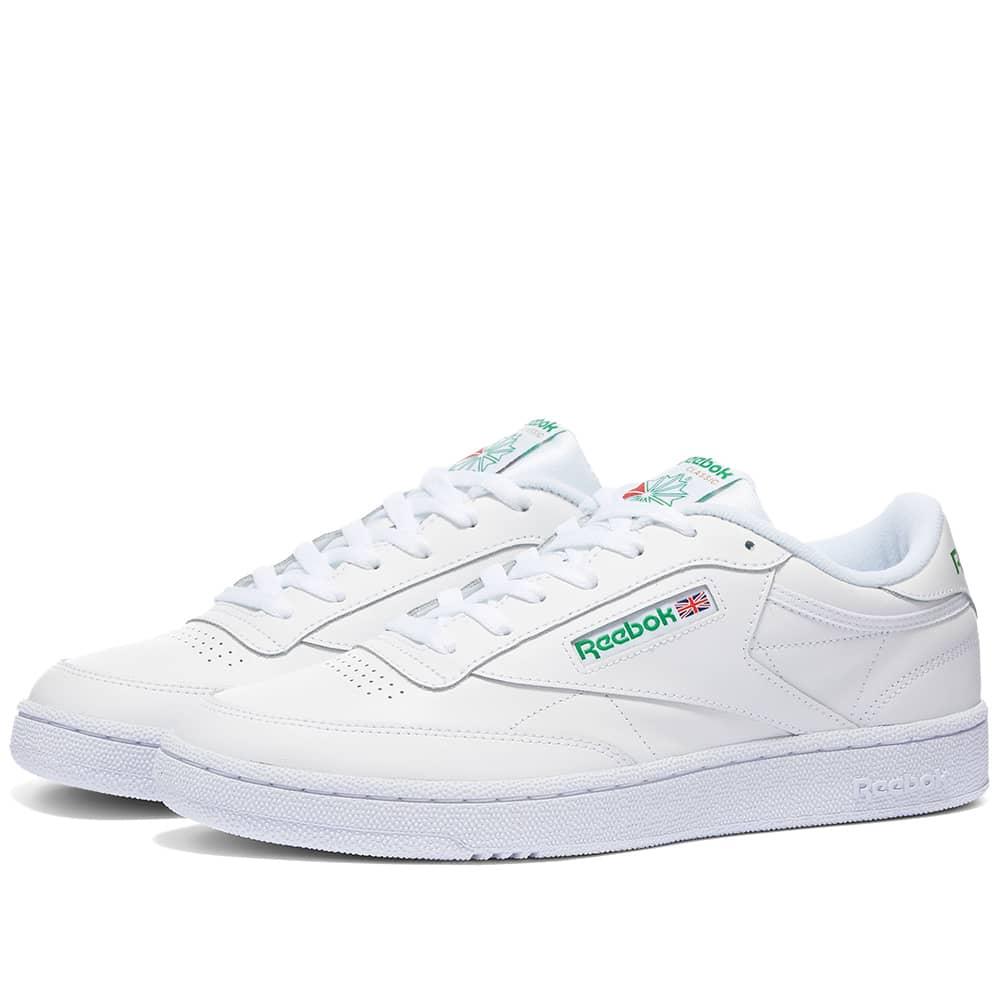 Reebok Club C 85 - White & Green