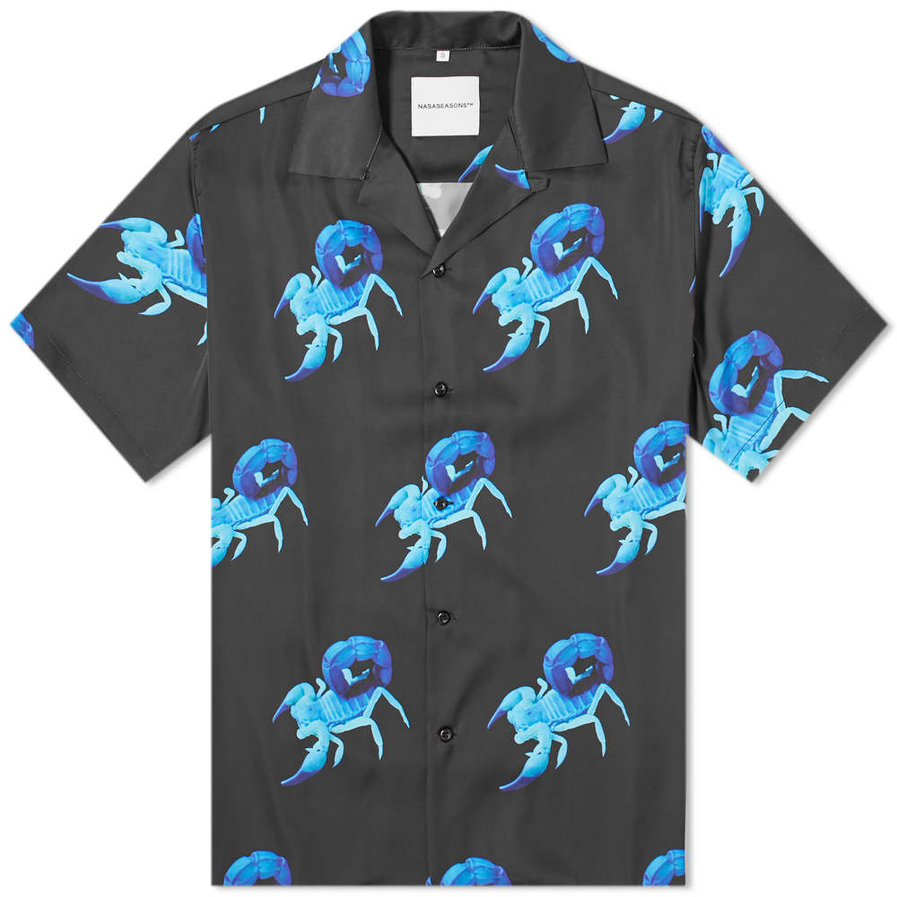 NASASEASONS Scorpion Print Vacation Shirt