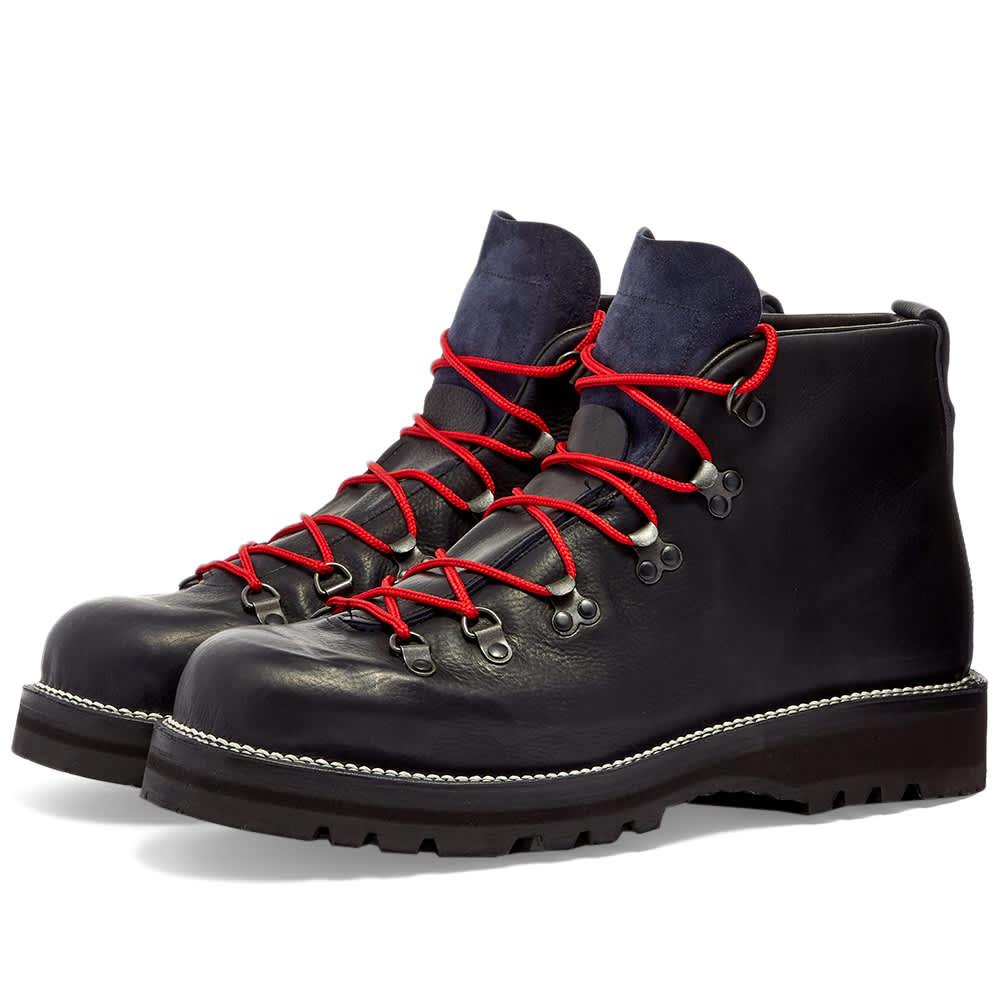 Viberg Hiker Boot - Navy Oiled Calf