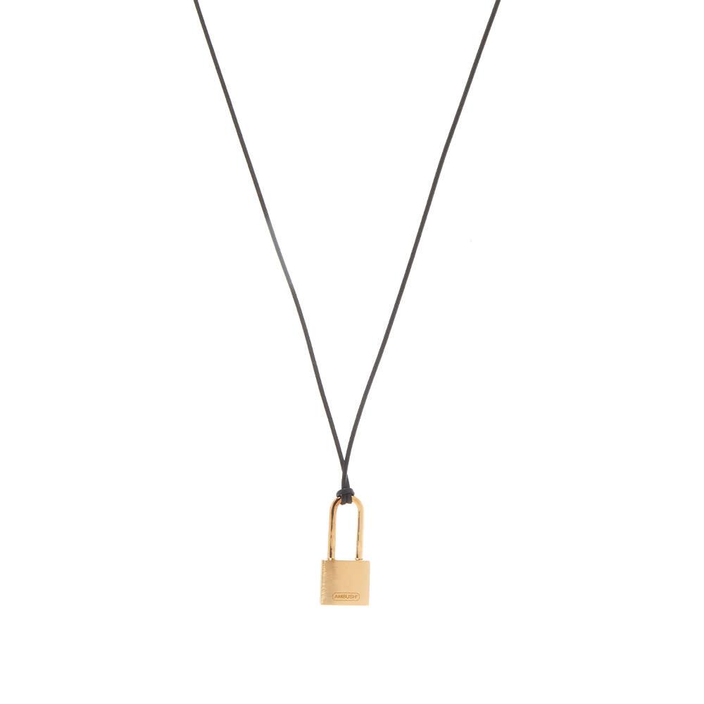 Ambush Small Padlock Necklace - Gold