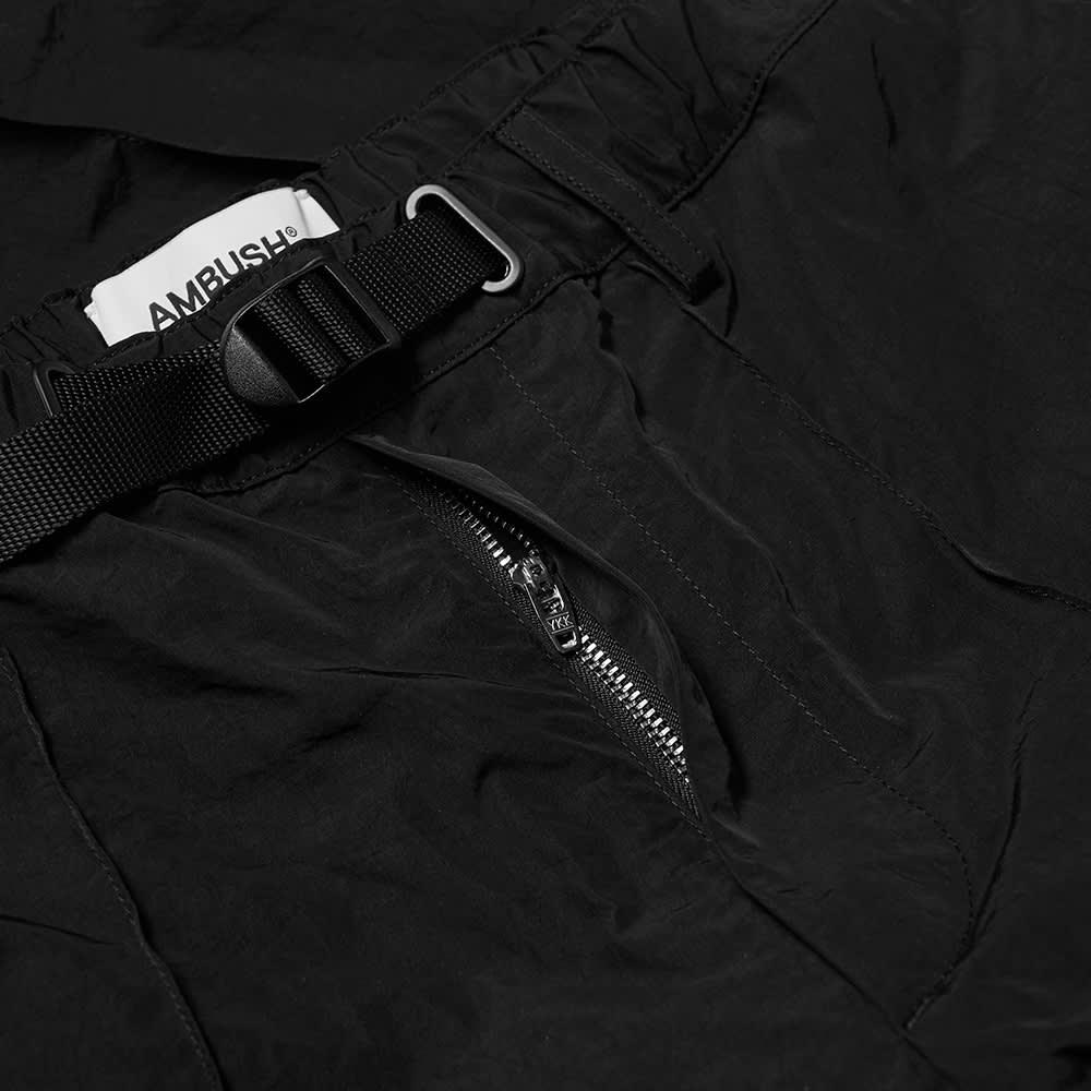 Ambush Nylon Track Pant - Jet Black