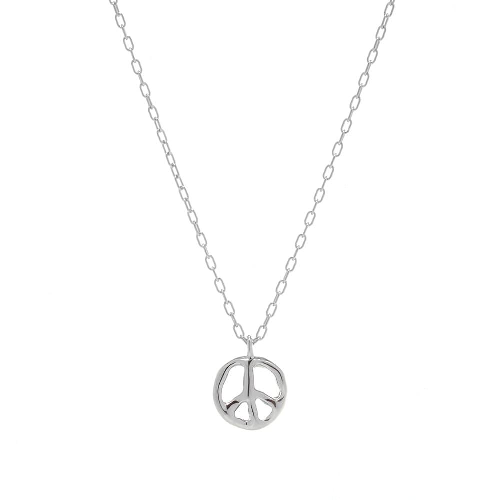 Ambush Peace Charm Necklace - Silver