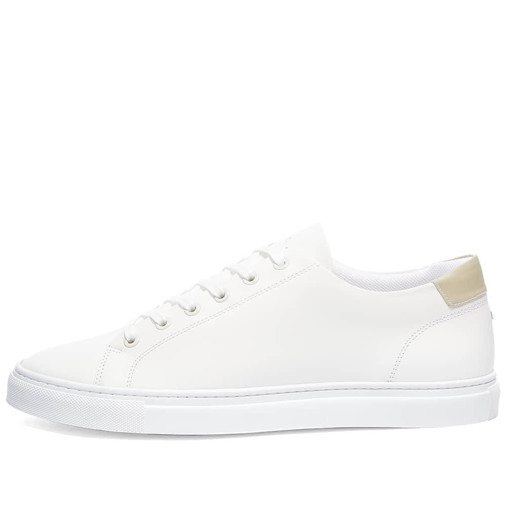 ETQ Court Lite Low Top 01 Sneaker - White & Sand