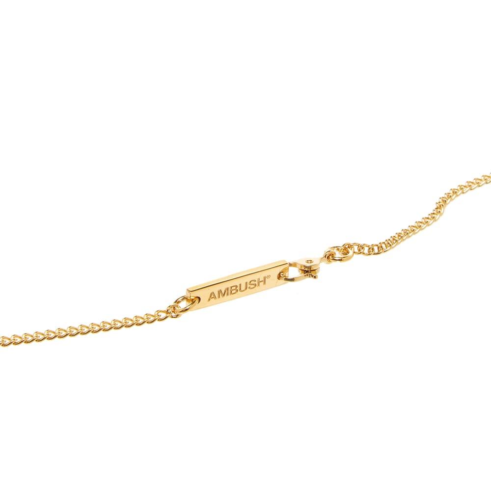 Ambush Pill Case Necklace - Gold