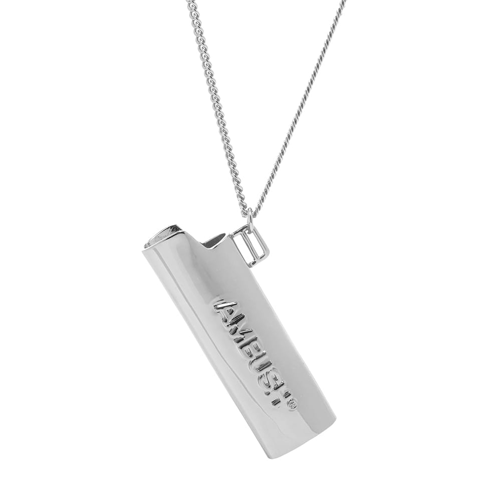 Ambush Logo Lighter Necklace - Silver