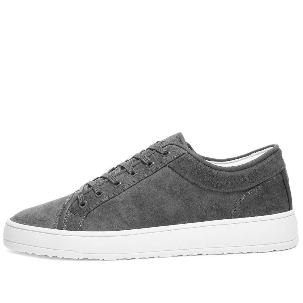 ETQ Shades Low Top 01 Sneaker - Steel Grey Suede