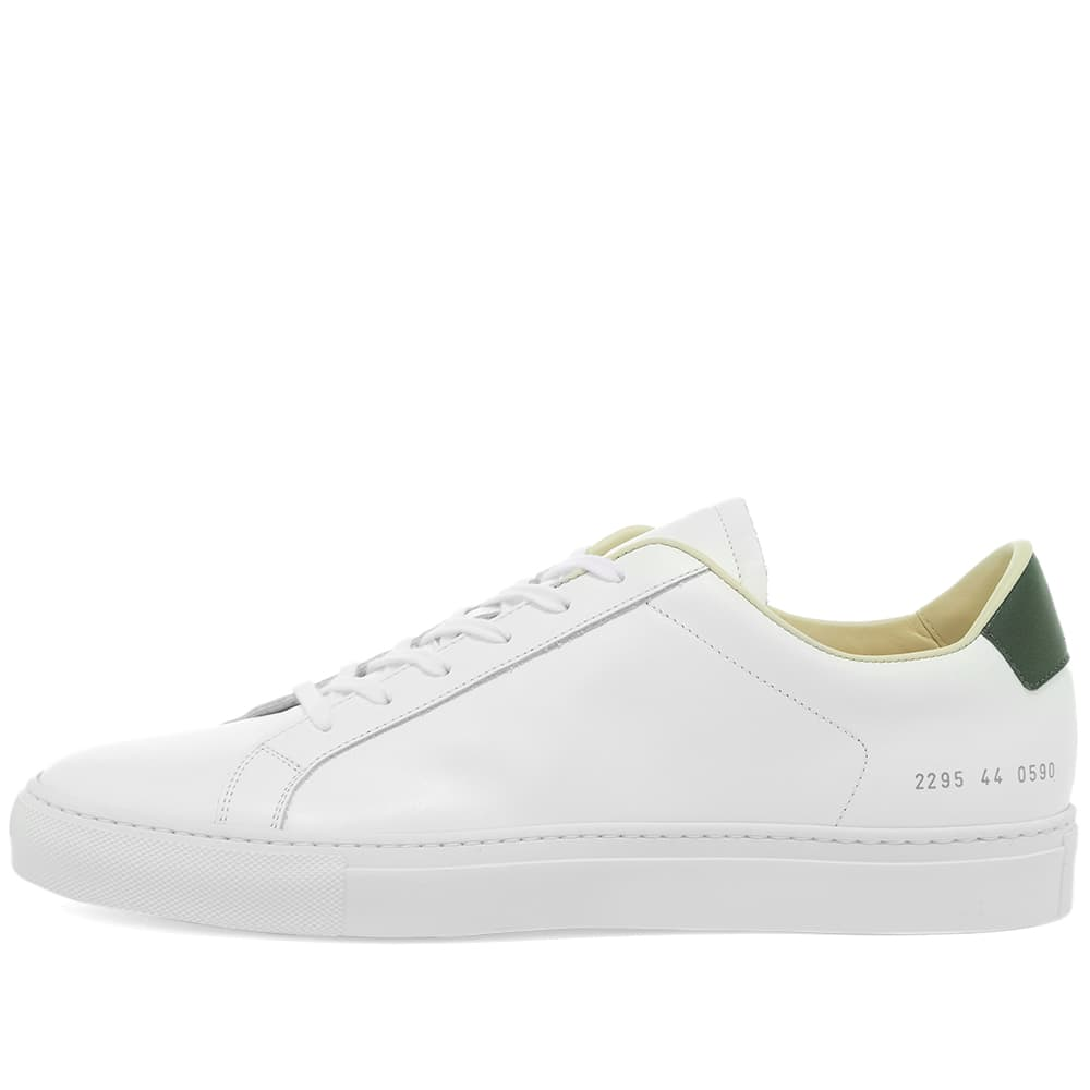 Common Projects Retro Low - White & Green