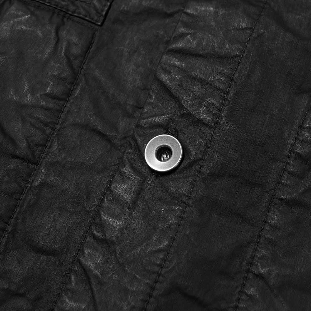 Rick Owens DRKSHDW Waxed Shirt Jacket - Black