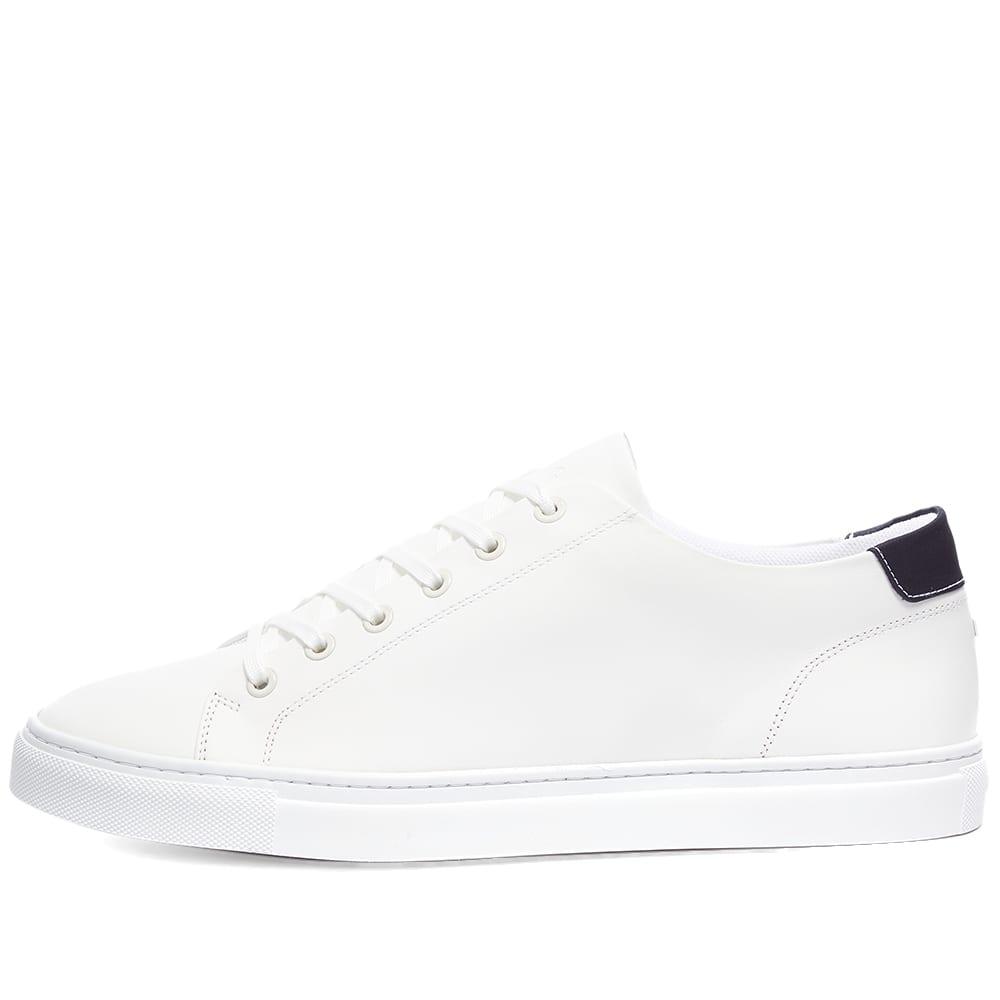ETQ Court Lite Low Top 01 Sneaker - White & Ink