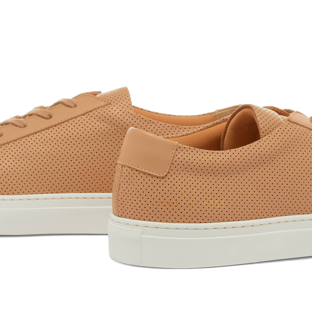 Common Projects Achilles Low Perforated - Tan