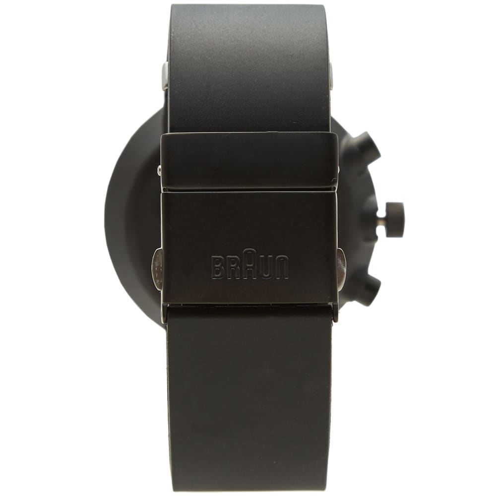 Braun BN0095 Chronograph Watch - Black & Black