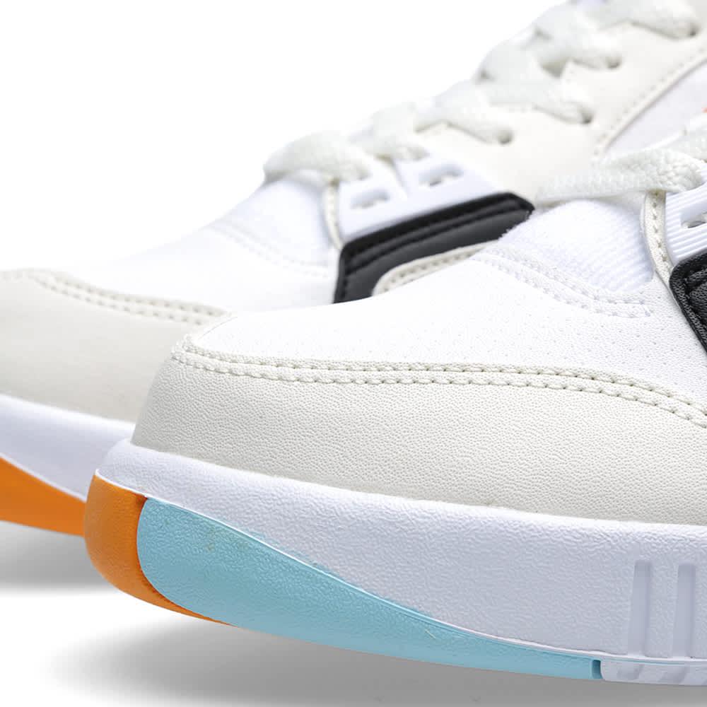Nike Air Tech Challenge II - White & Kumquat