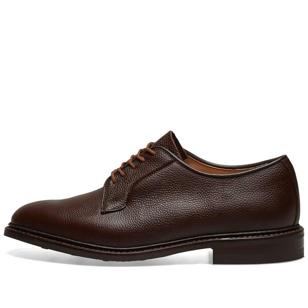 Tricker's Fenwick Derby Shoe - Dark Brown Olivvia