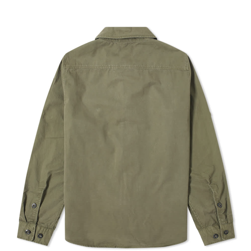 C.P. Company Undersixteen Arm Lens Zip Shirt - Ivy Green