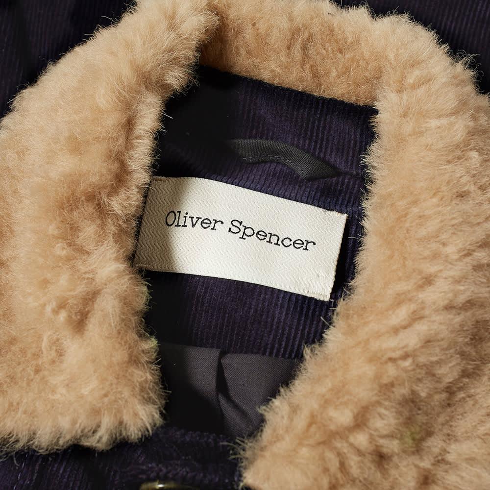 Oliver Spencer Buffalo Jacket - Cord Navy