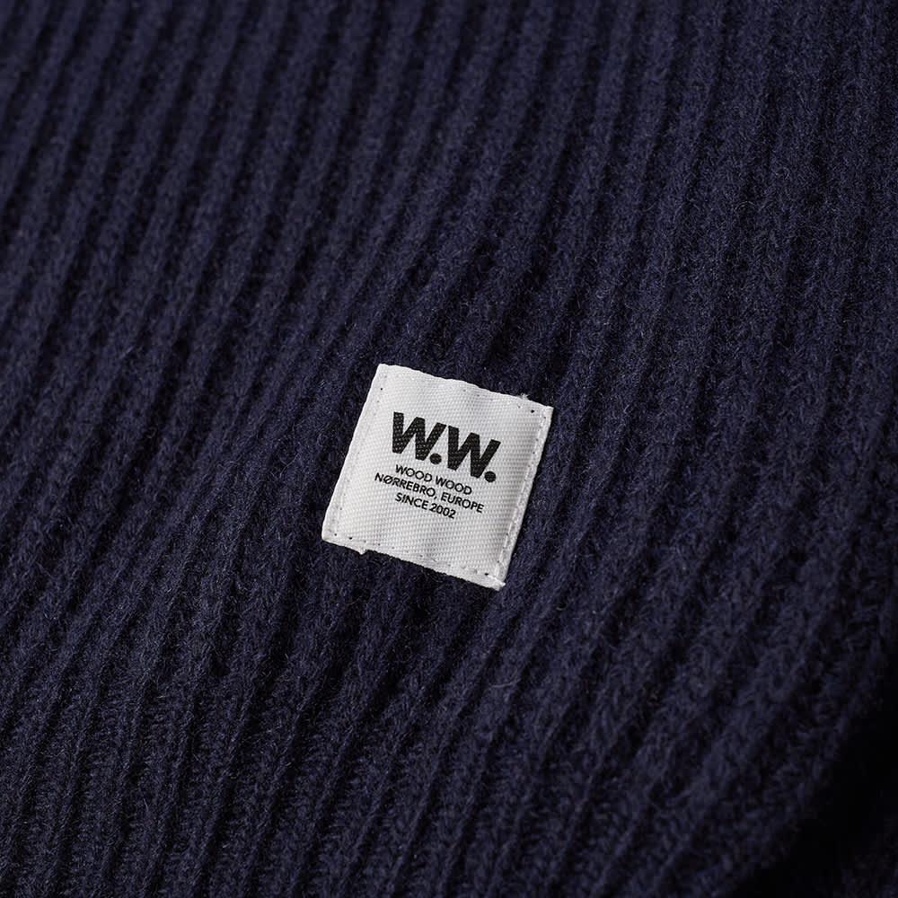 Wood Wood Avery Heavy Knit - Navy