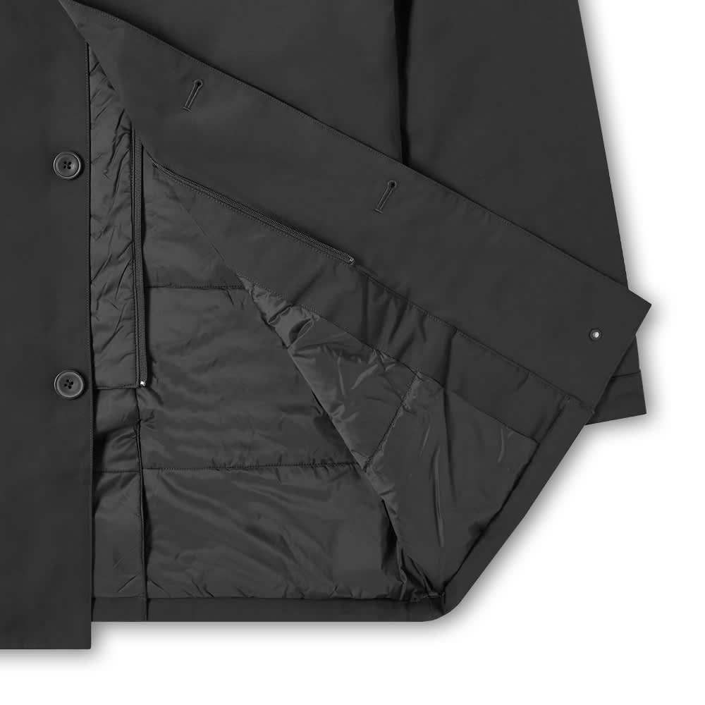 NN07 Blake Technical Car Coat - Black