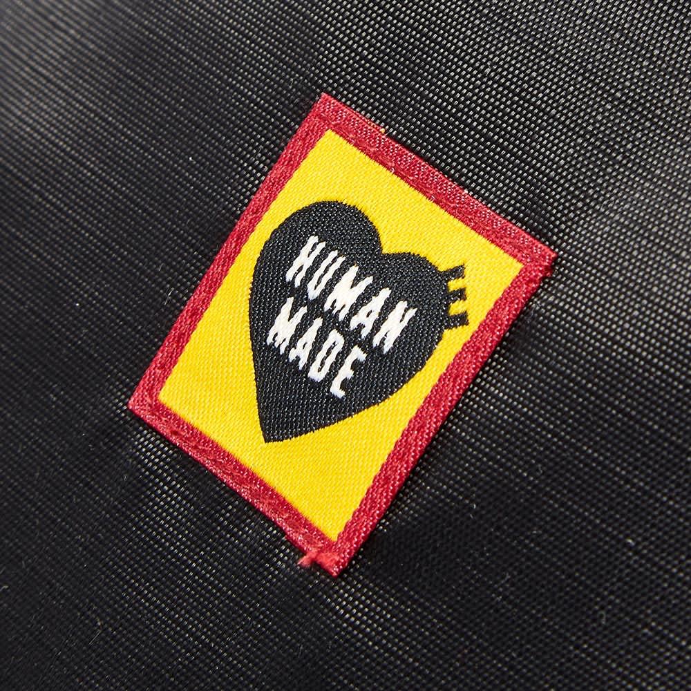 Human Made Nylon Ripstop Backpack - Black