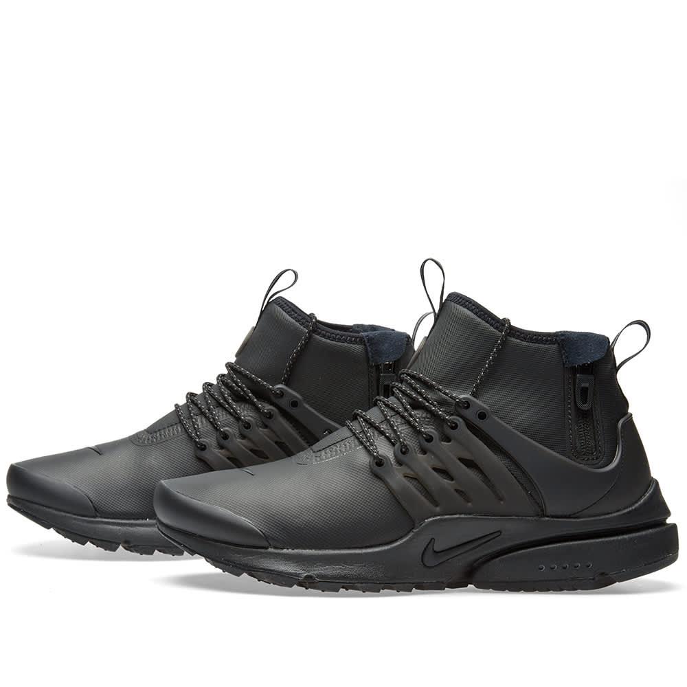 Nike Air Presto Mid Utility Black