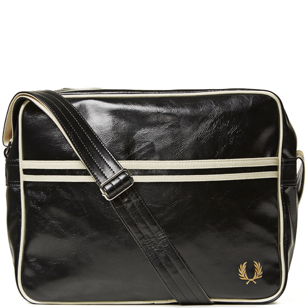 Fred Perry Classic Shoulder Bag - Black