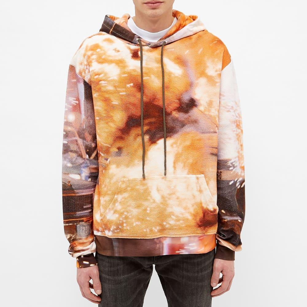 424 Explosion Hoody - Orange & Red