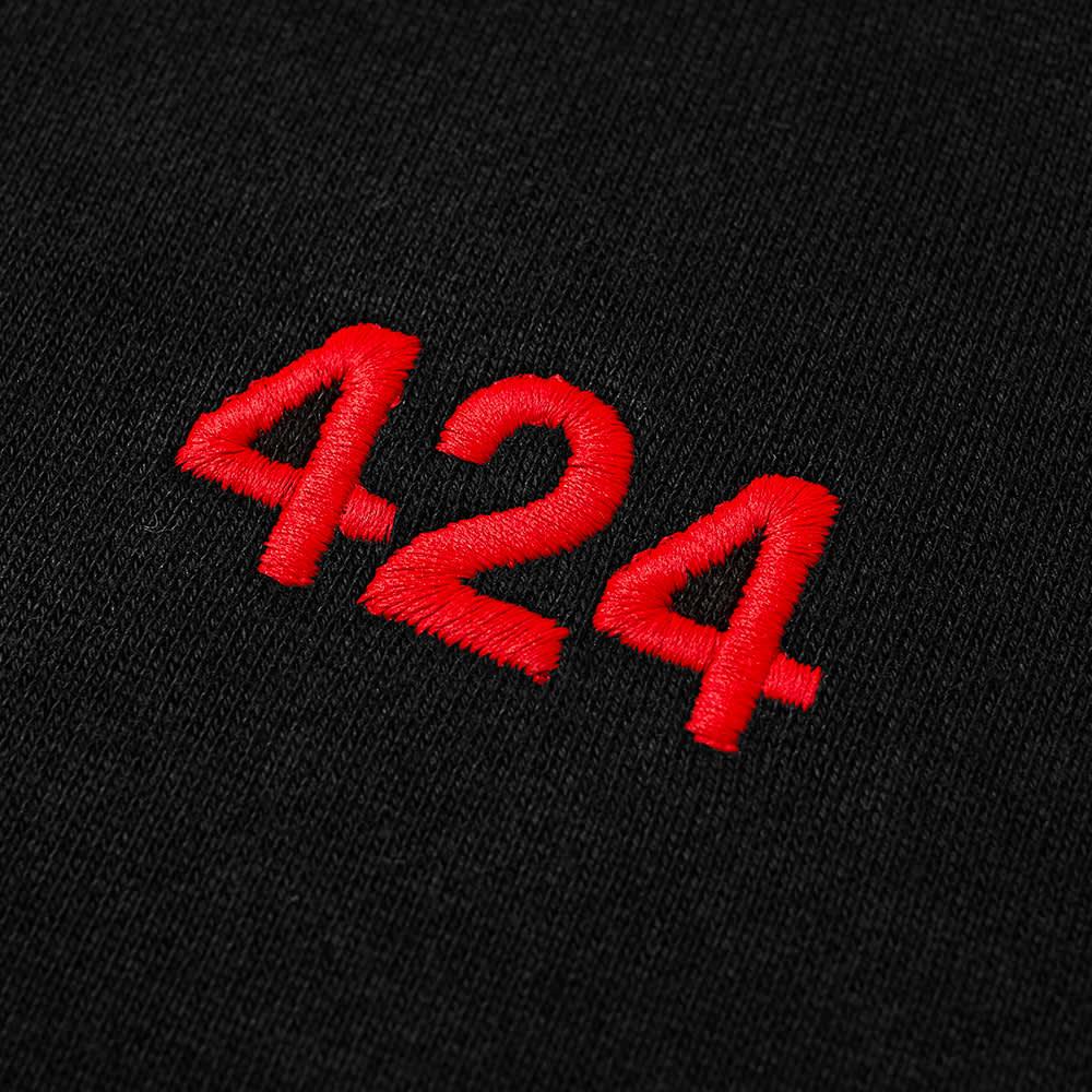 424 Classic Logo Hoody - Black