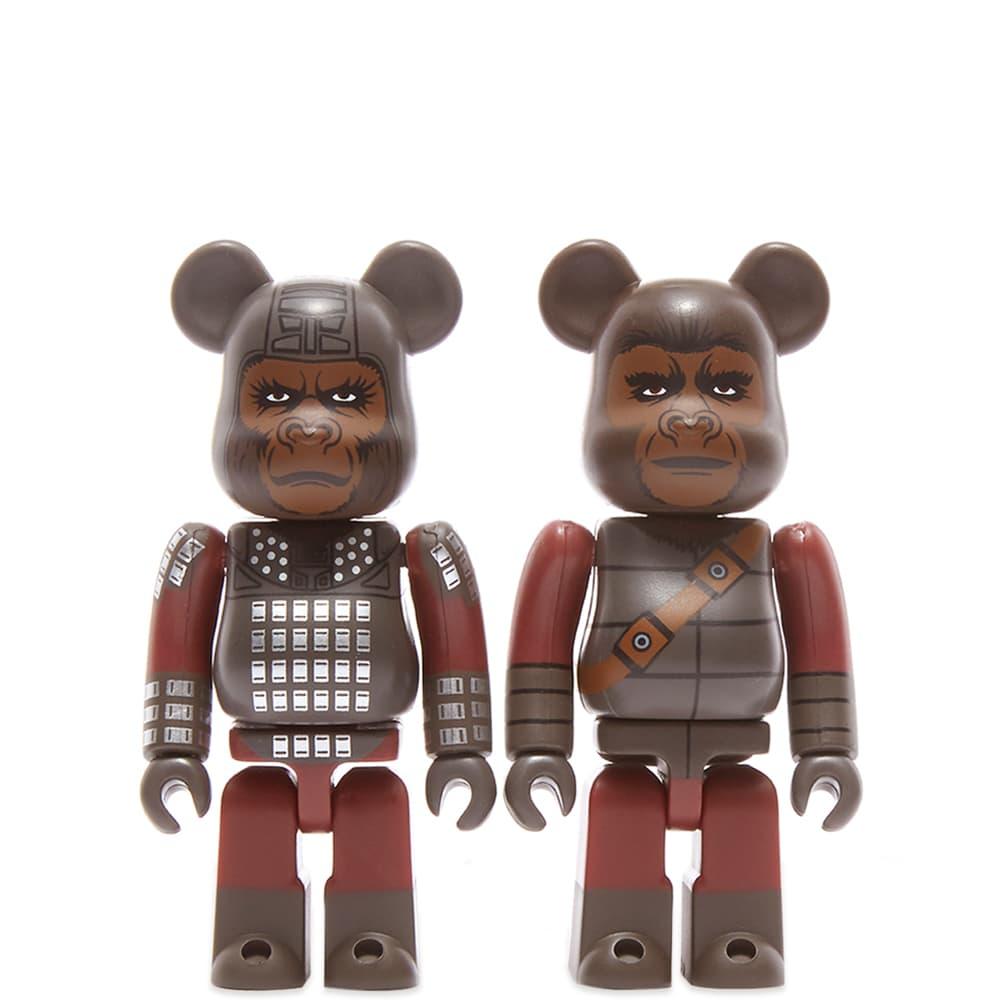 Medicom General Ursus & Soldier Ape 2 Pack Be@rbrick - Multi 100%