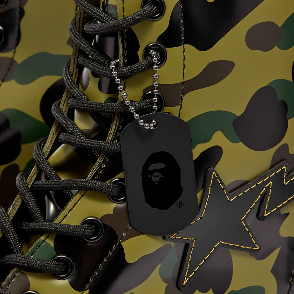 Dr. Martens x A Bathing Ape 1460 Zip Boot - Camouflage