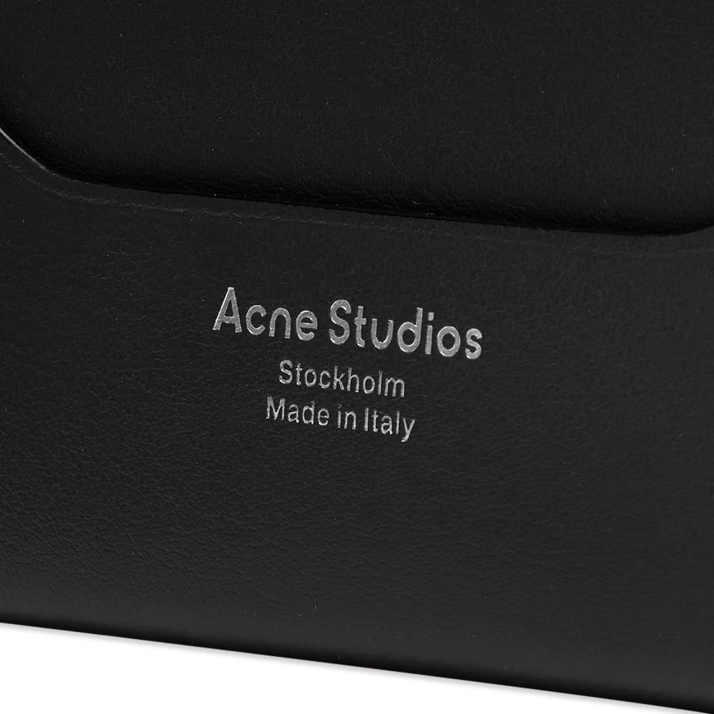 Acne Studios Elmas Card Holder - Black