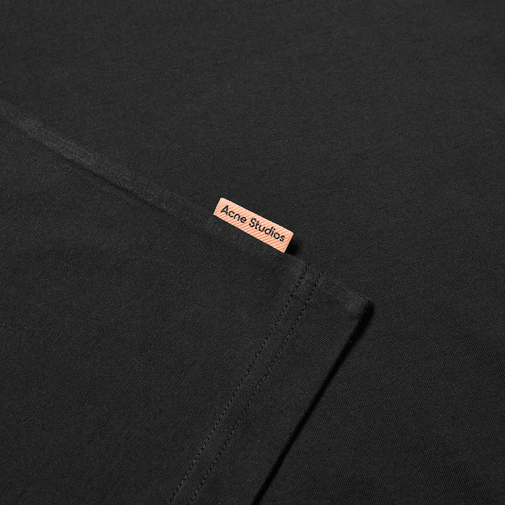 Acne Studios Everrick Pink Label Tee - Black