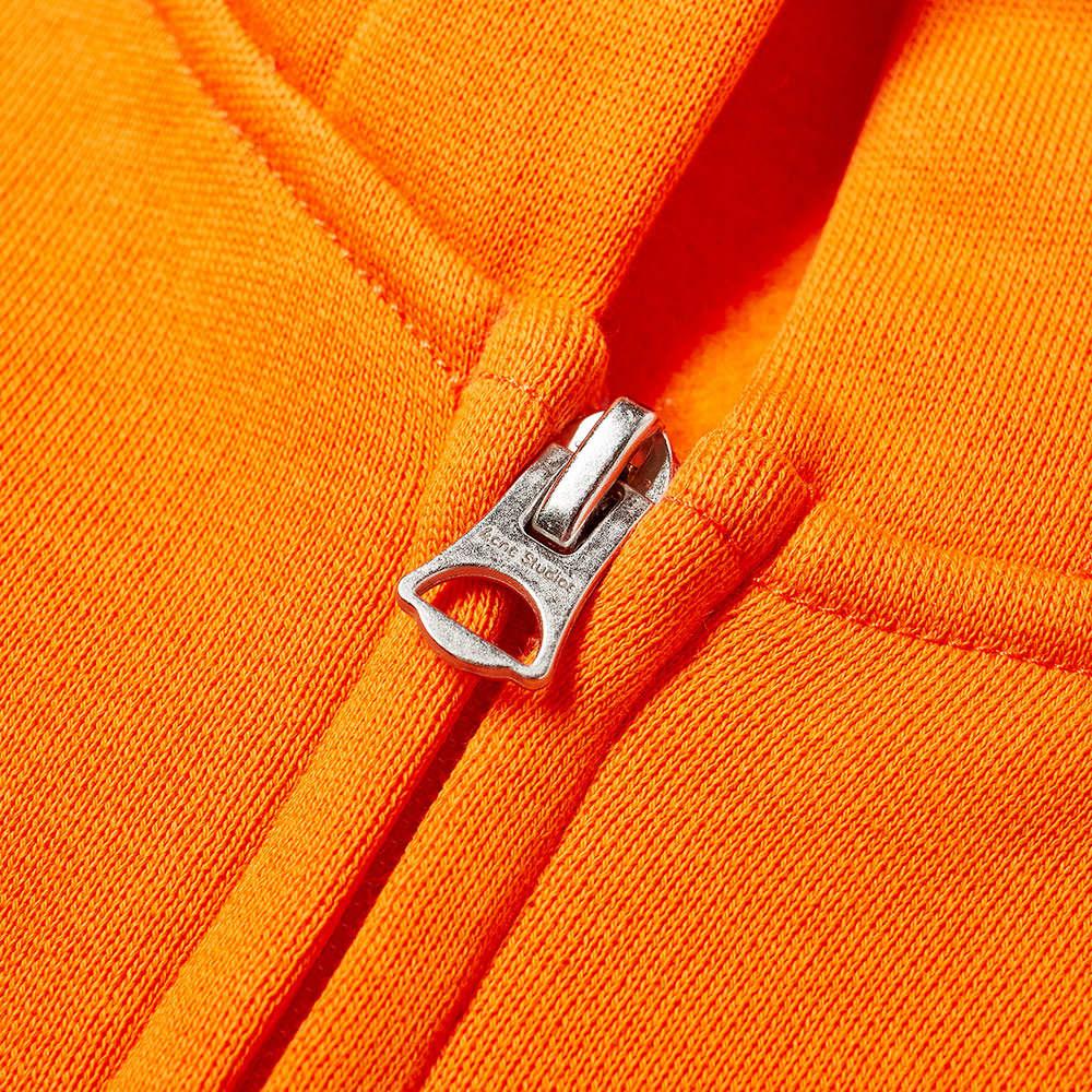 Acne Studios Mini Ferris Zip Hoody - Dark Orange