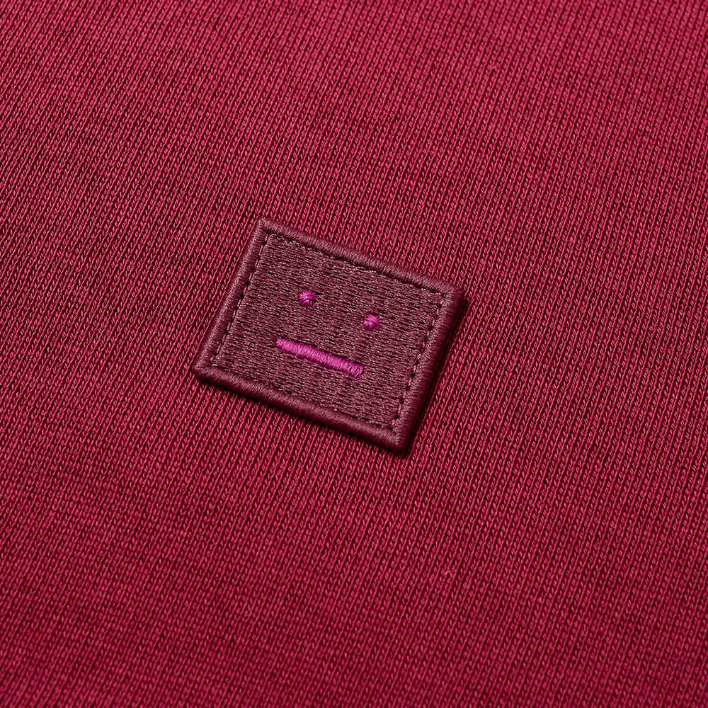 Acne Studios Mini Ferris Zip Hoody - Dark Pink