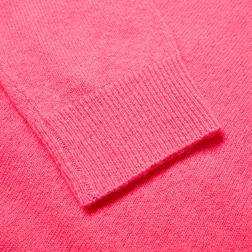 Acne Studios Mini Kalon Face Crew Knit - Bubblegum Pink
