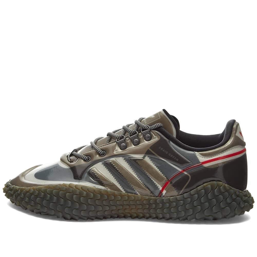 Adidas x Craig Green Polta AKH I - Black, Grey & Simple Brown